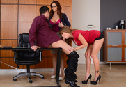 Darla Crane & Syren De Mer & Seth Gamble in Naughty Office