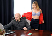 Krissy Lynn & JMac in Naughty Office