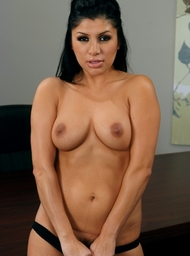 Stranger Porn Video with Big Tits and Black Hair scenes