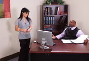 Rebeca Linares & Prince Yahshua in Naughty Office