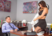 Reena Sky & Johnny Castle in Naughty Office