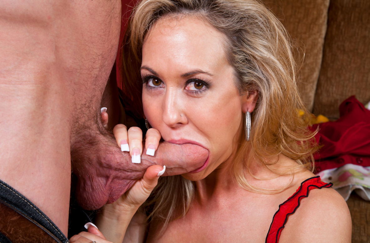 Watch Brandi Love and Jordan Ash video in Seduced By A Cougar